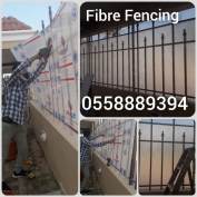 Acrylic Sheet Fencing and Fibreglass Fencing