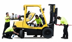 Forklift repair and maintenance