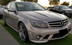 Mercedes-Benz C63 AMG Japan imported