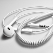 Single In-Ear Hands free with Volume Control for iPhone, iPods
